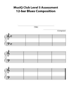 L5: Composition 12 Bar Blues Final Copy