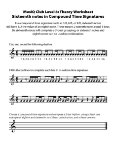 L8: TH Sixteenth Notes in Compound Time Signatures