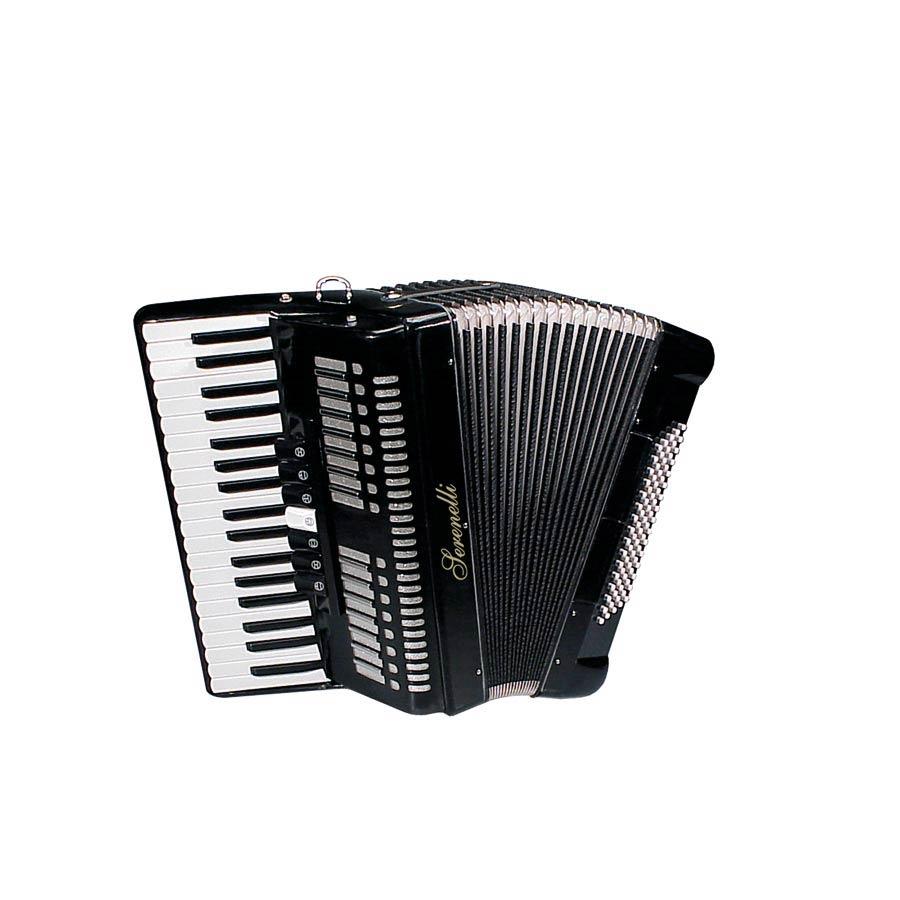 Accordon Chromatique 37 Touches Piano Et 80 Basses