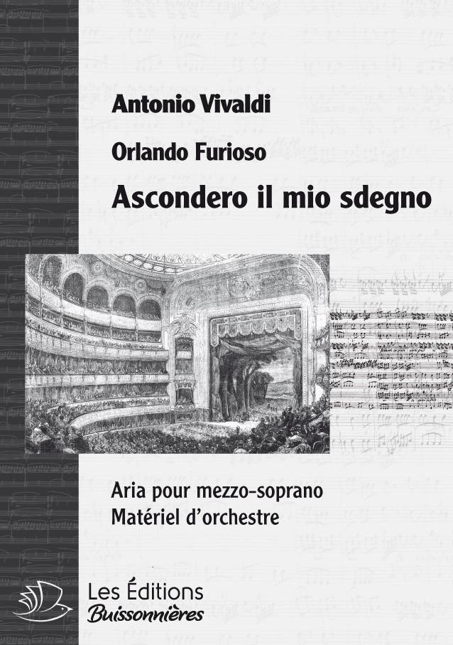 Vivaldi : Ascondero il mio sdegno (Orlando furioso), chant