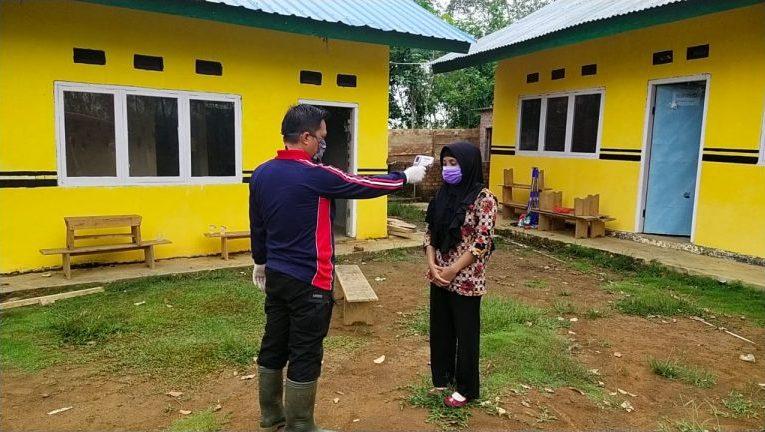 Pemdes Leban Jaya Siapkan Karantina Warganya Pulang Kampung