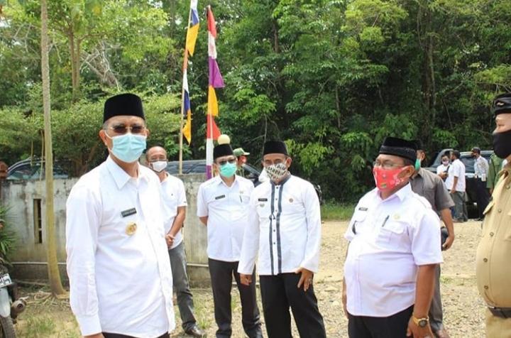 Bupati H2G Jalankan Program Akrab Desa di Kecamatan Sukakarya