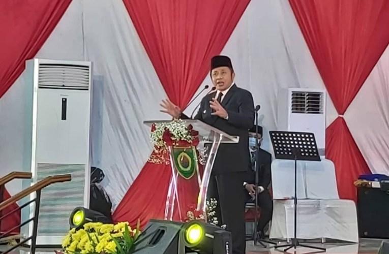 Ahmad Rizali Resmi Menjadi Pejabat Sementara Bupati Musi Rawas.