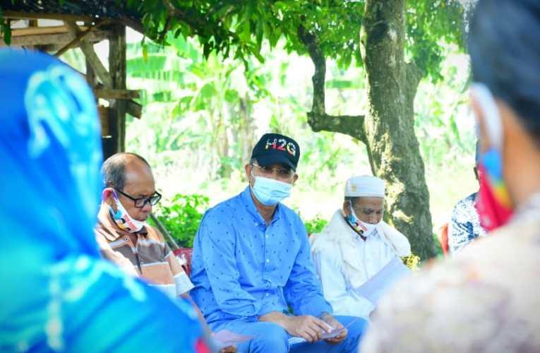 Kampanye Paslon H2G-Mulya Door to Door, Tetap Patuhi Prokes Covid-19