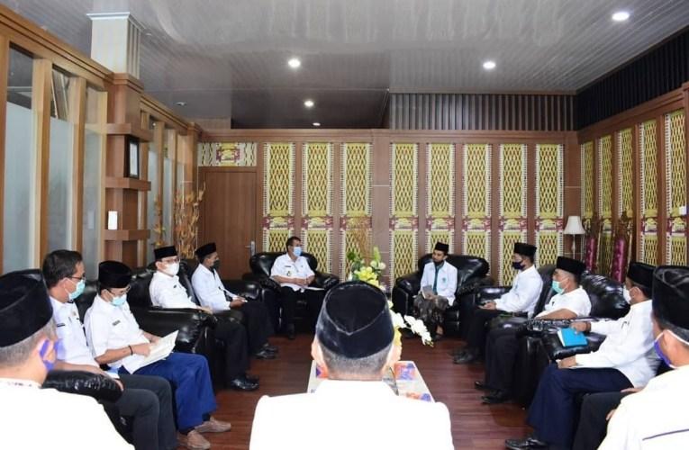 Pjs Bupati Mura Melakukan Audiensi Bersama Majelis Ulama Indonesia (MUI) Mura.