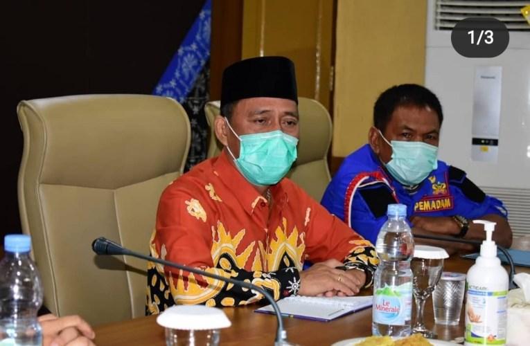 Sekda Mura Pimpin Rapat Pembahasan Logistik Linmas Pilkada Tahun 2020.