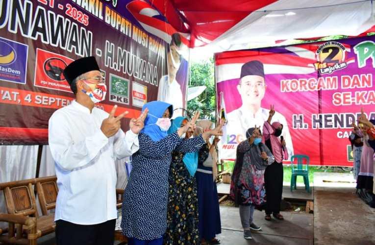 Doa Emak-emak Kecamatan Tuah Negeri, H2G Terpilih Lagi