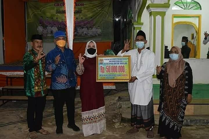 Pererat Silaturahmi, Bupati/Wabup Safari Ramadhan ke Masjid Darul Ulum Sumber Harta