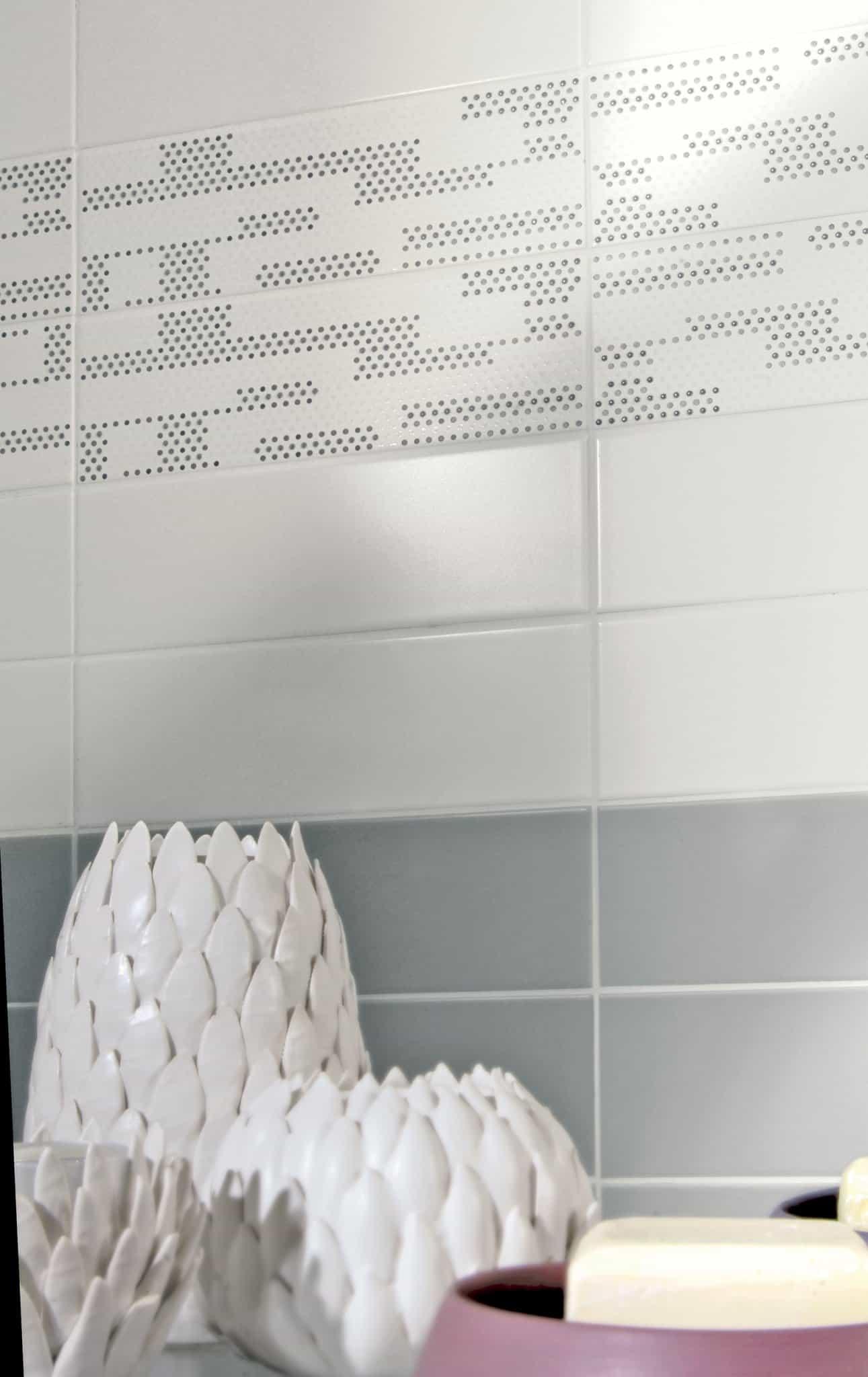 tiffany rivestimento bagno grigio wall  Musis Ceramica