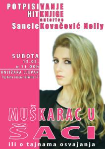 Promocija-knjige-Trg-bana-Jelačića_SKNelly_Muškarac-u-šaci