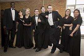 The MCC Collegiates singing group