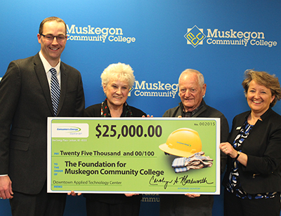 Consumers Energy Check Presentation