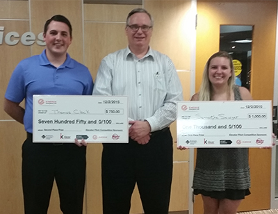 2015 Elevator Pitch Competition Winner