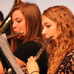 Wind Ensemble Flutists