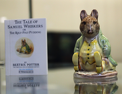 Beatrix Potter Exhibit at MCC Library