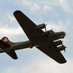 World War II American bomber B-17