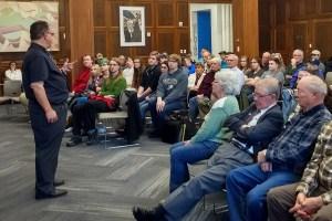 Farina lecture at MCC