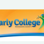 Earky College of Muskegon County logo