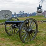 View of the Gettysburg battlefield