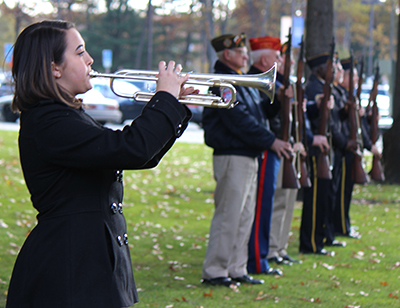 Veterans Salute at MCC