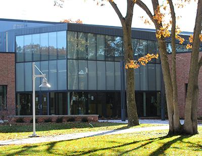 Health and Wellness Center main entrance