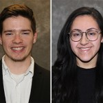 MCC 2019 Commencement Student Speakers Maxwell Olmstead and Alana Tover-Pineda