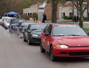 autocross racing at MCC