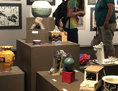 Image from 2018 MCC Student Art and Design Exhibition