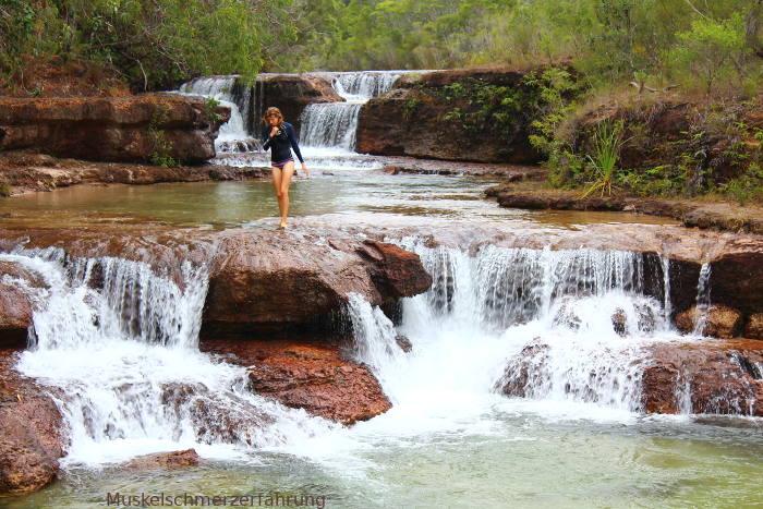 Tropischer Fluss einer Traumreise