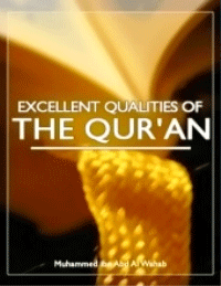 The Excellent Qualities of the Holy Quran