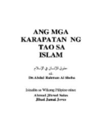 Ang Mga Karapatan ng Tao sa Islam