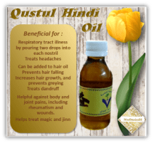 Qustul Hindi oil