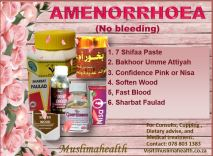 Amenorrhoea pack