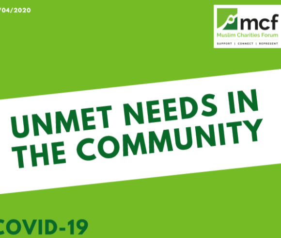 COVID-19 Unmet Needs In The Community