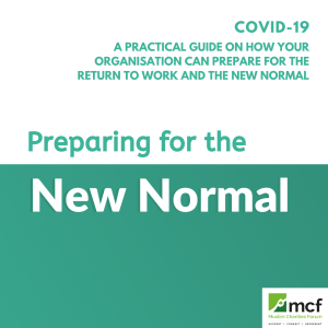 COVID-19: Preparing For The New Normal