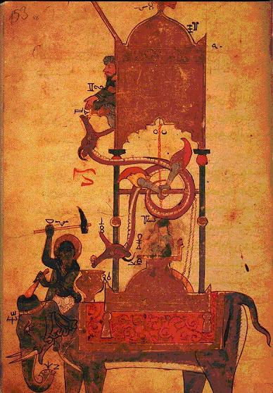 elephant high chair potty chairs overview on al-jazari and his mechanical devices | muslim heritage
