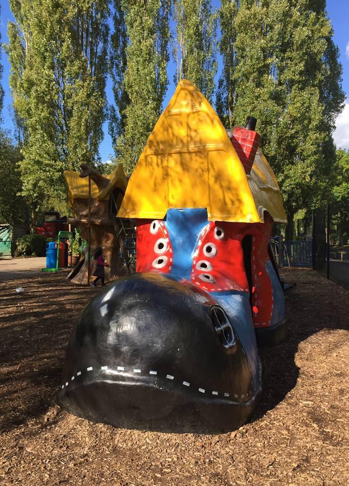 Play areas at Paradise Wildlife Park