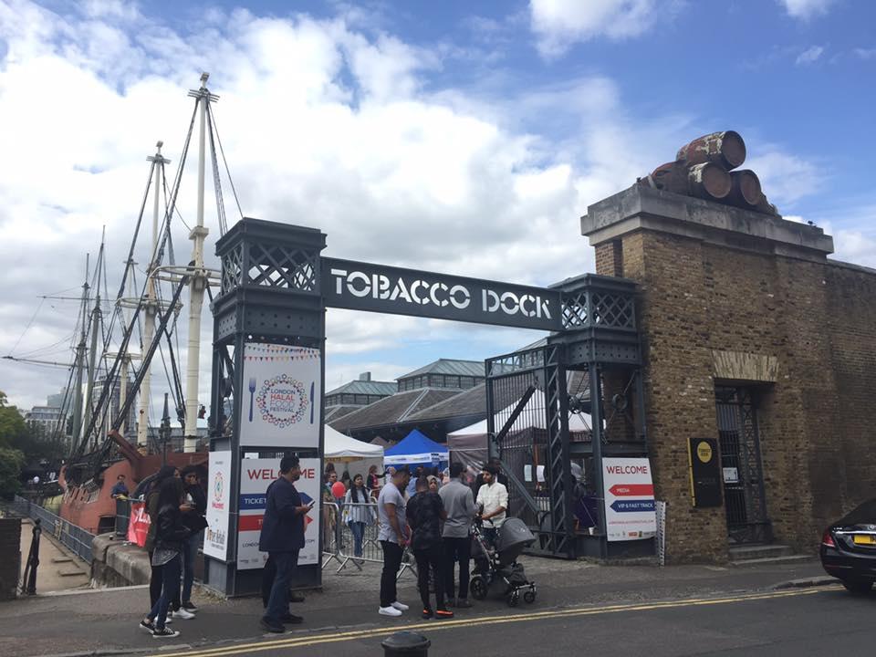 London Halal Food Festival Tobacco Dock