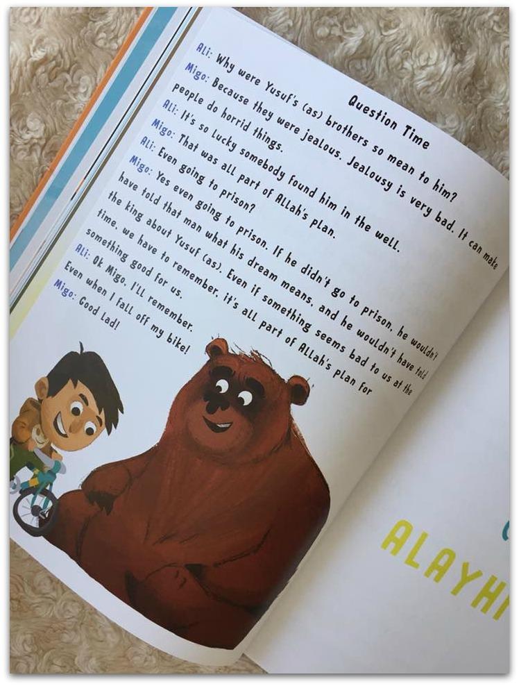 Migo and Ali book