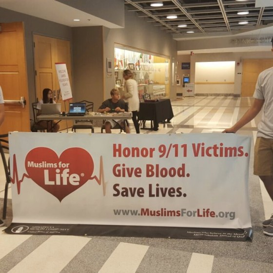 Muslims For Life Blood Drives – Columbus, OH, 2016