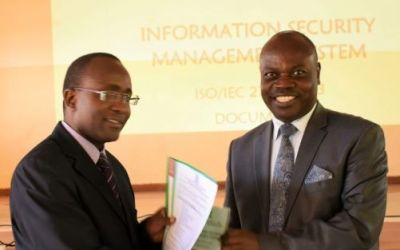 Launch of Information Security Management System
