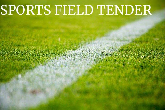 Re-advertisement tender document for proposed construction of sports fields (phase one of two)