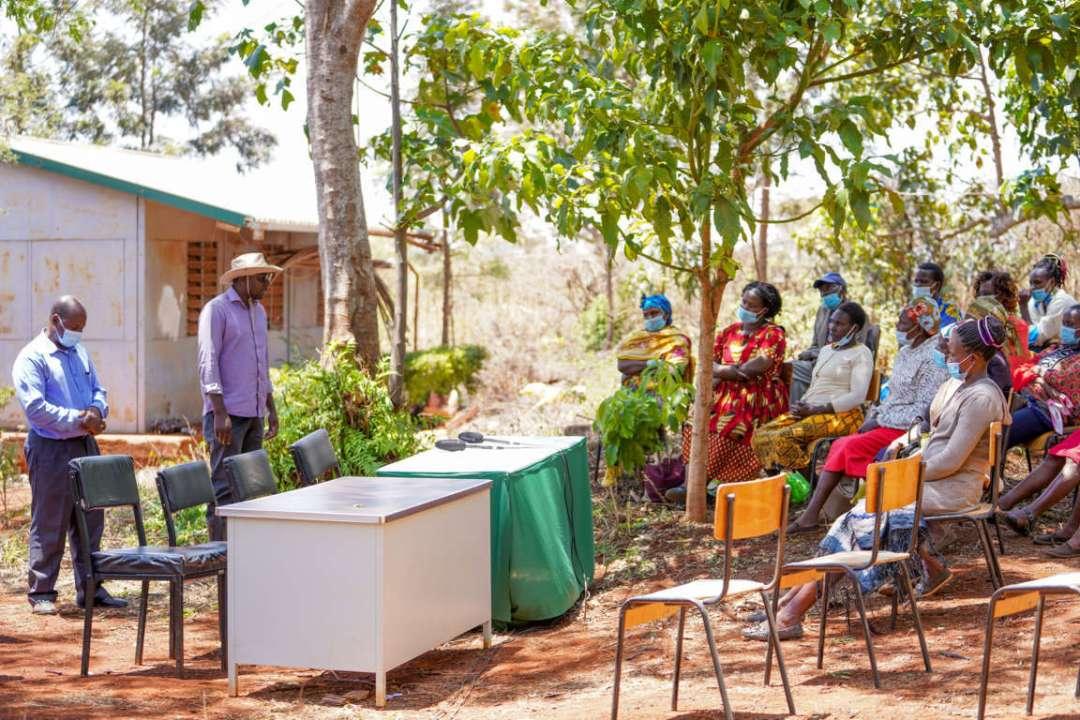 E-pivot projects farmer's day