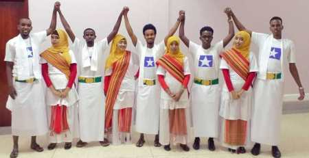 Somali Students of MUST at the 4th International Students' Dinner