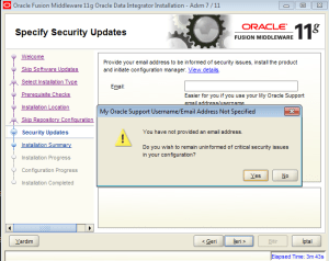 oracle data integrator install linux
