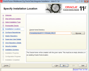 oracle data integrator kurulum linux
