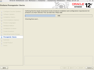 Oracle 12c database Oracle Enterprese Linux Uzerine kurulum