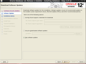 oracle 12c database kurulum