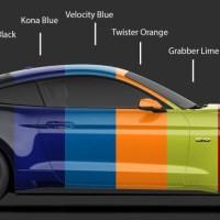 Neue Farben für den 2020 Ford Mustang