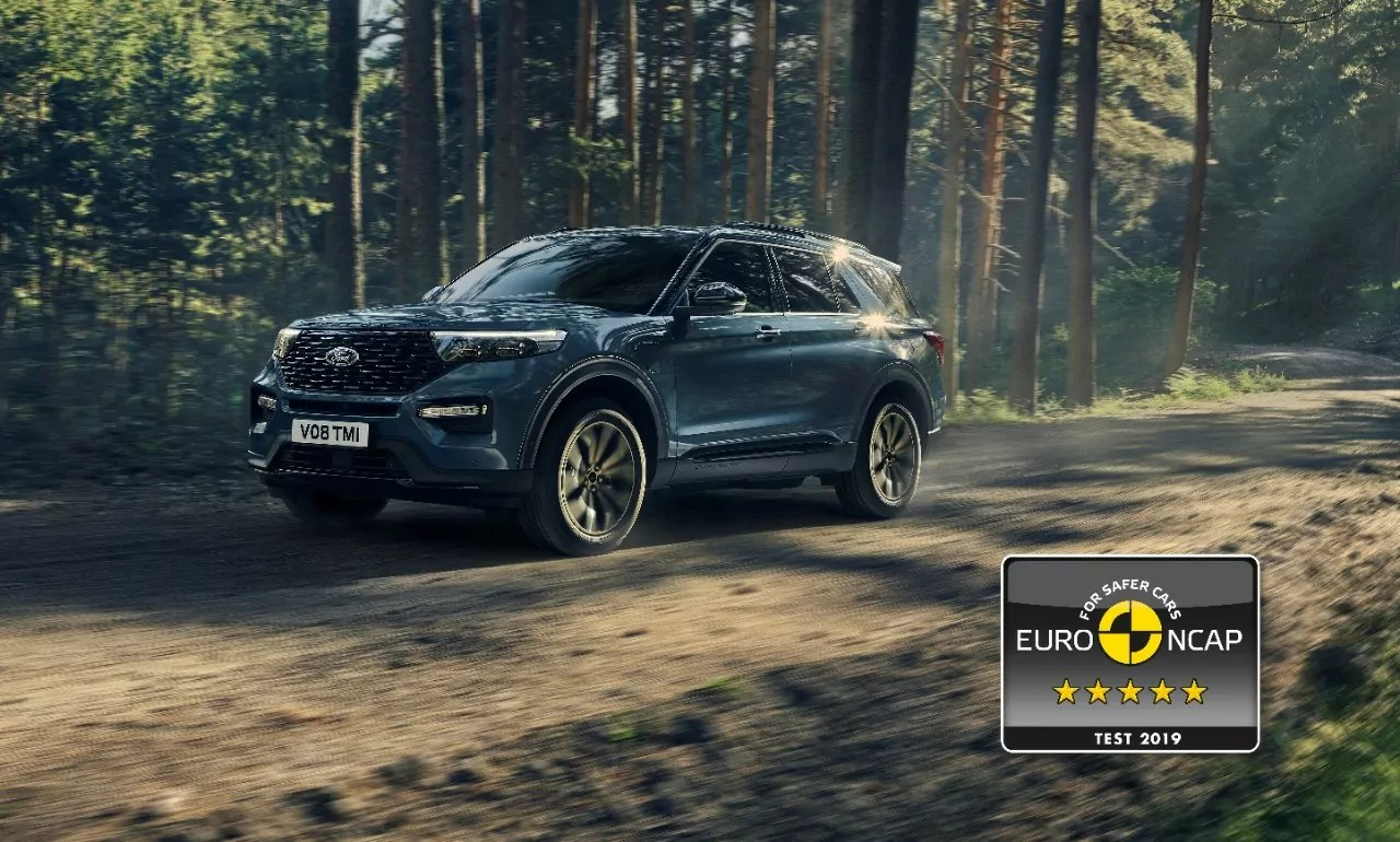 5 Sterne: Ford Explorer erhält maximale EURO NCAP-Bewertung